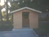 Garden shed, thanks to Webley Hall